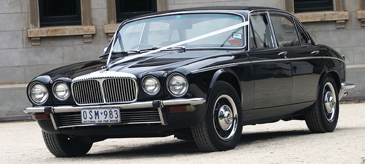 Carwood Wedding Car Hire Black Or White Classic Xj6 Daimler
